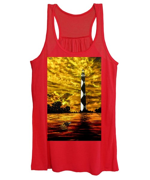 Candle On The Water Women's Tank Top
