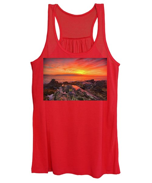 Cape Neddick Sunrise Women's Tank Top