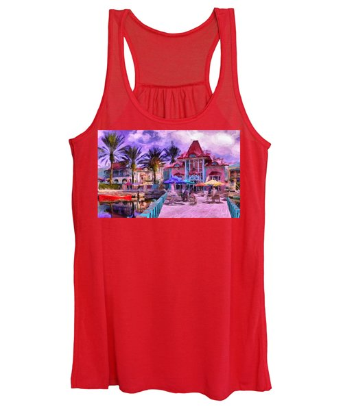 Caribbean Beach Resort Women's Tank Top