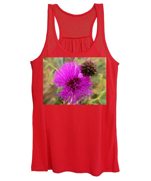 Catclaw Pink Mimosa  Women's Tank Top