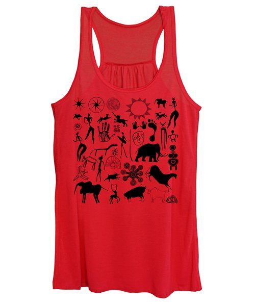 Cave Painting Women's Tank Top