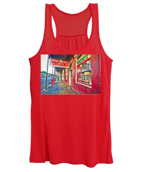 Central Grocery And Deli In The French Quarter Women's Tank Top