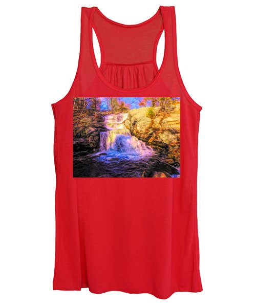 Chapman Falls Connecticut Women's Tank Top
