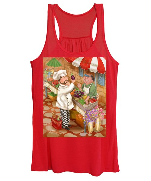 Chefs Go To Market I Women's Tank Top