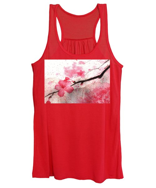 Cherry Blossoms 1 Women's Tank Top