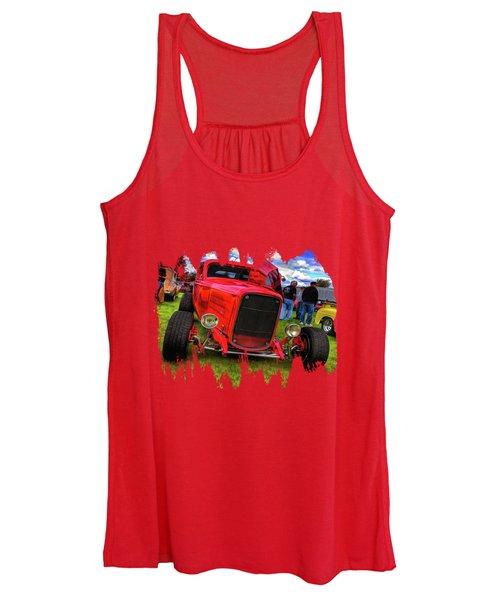 Cherry Red  Women's Tank Top