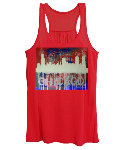 Chicago Drip Women's Tank Top