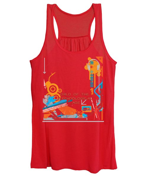 Child Of The Technological Age Women's Tank Top