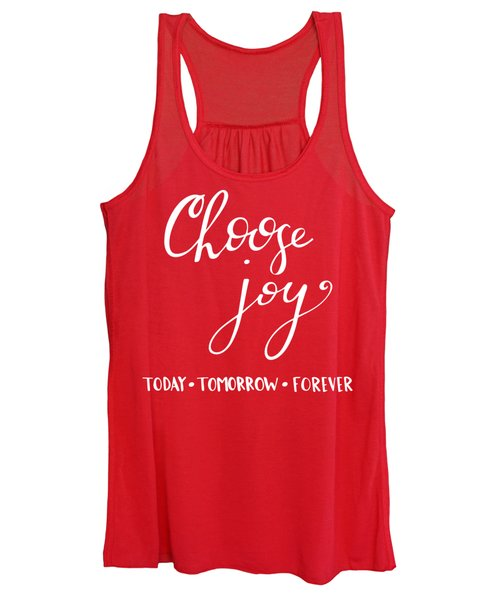 Choose Joy Women's Tank Top