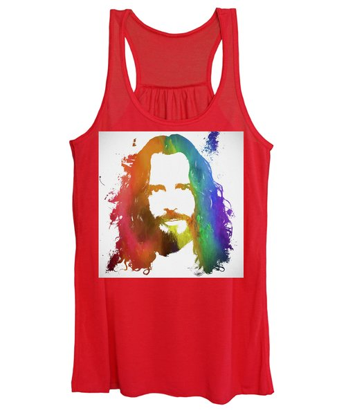 Chris Cornell Color Tribute Women's Tank Top