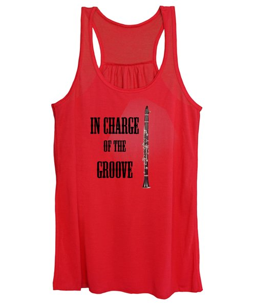 Clarinet In Charge Of The Groove 5525.02 Women's Tank Top
