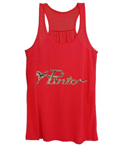 Classic Pinto Emblem Women's Tank Top