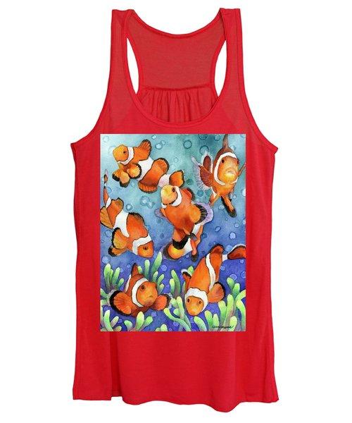 Clown Fish Women's Tank Top
