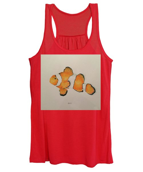 Clown Fish Women's Tank Top