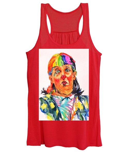 Clown Series Oh No  Women's Tank Top