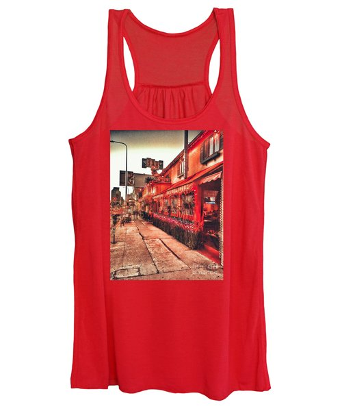 West Los Angeles Cocktail Row Women's Tank Top