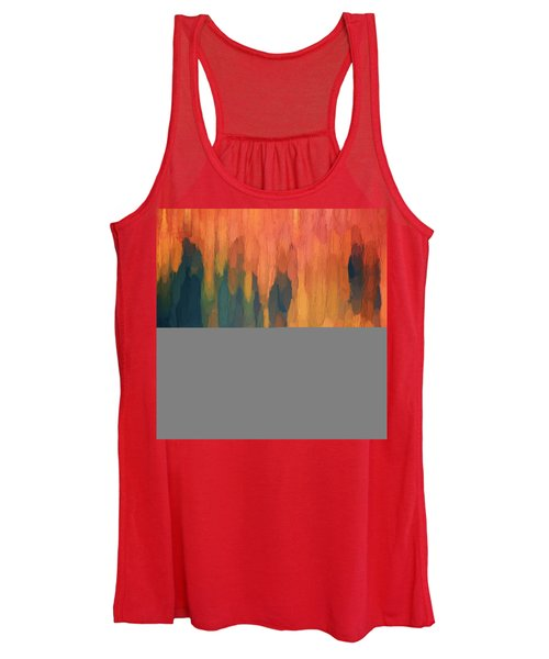 Color Abstraction L Sq Women's Tank Top