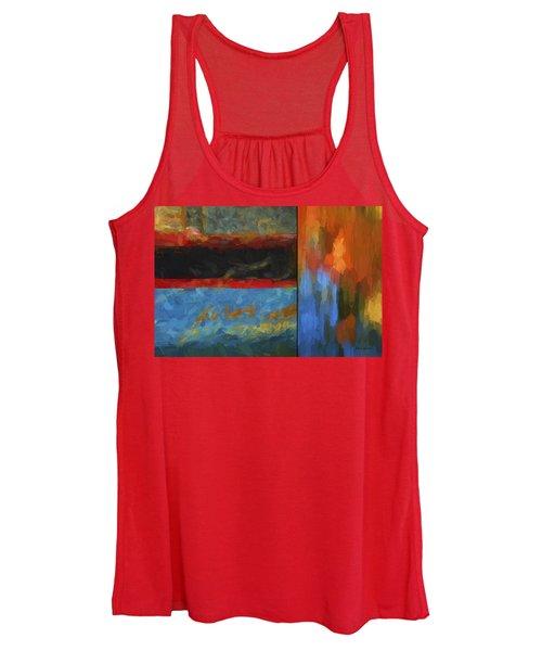 Color Abstraction Li  Women's Tank Top