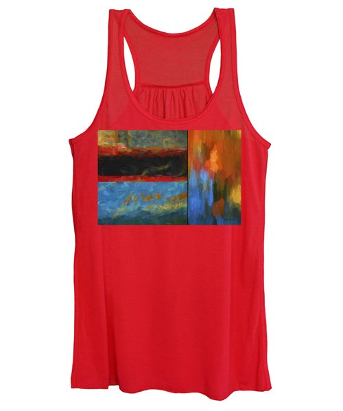 Color Abstraction Li  Women's Tank Top