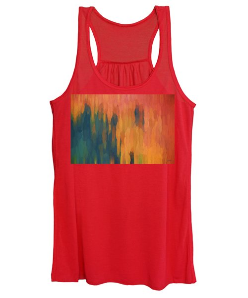Color Abstraction Xlix Women's Tank Top
