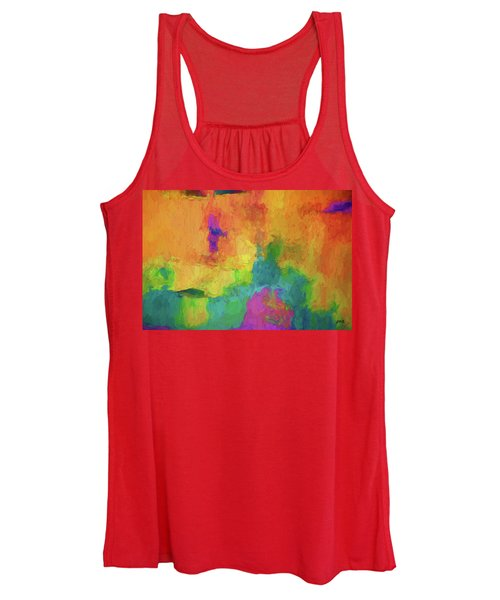 Color Abstraction Xxxiv Women's Tank Top