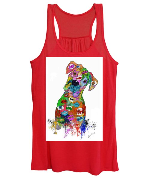 The Head Tilt. Need I Say More? Women's Tank Top