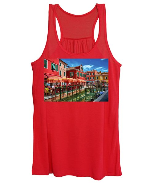 Colorful Day In Burano Women's Tank Top