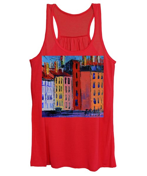 Colorful Facades Women's Tank Top