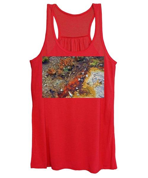 Colorful Hot Pool Women's Tank Top