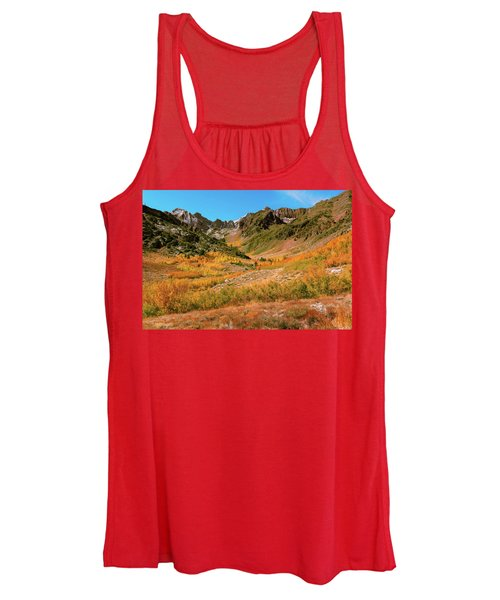 Colorful Mcgee Creek Valley Women's Tank Top