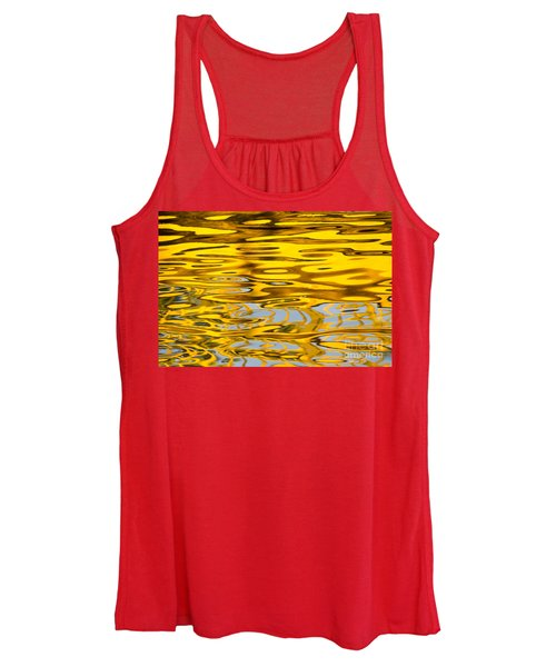 Colorful Reflection In The Water Women's Tank Top