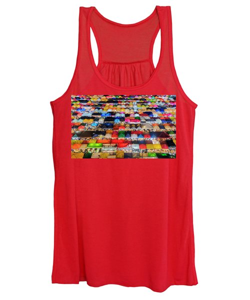 Colourful Night Market Women's Tank Top