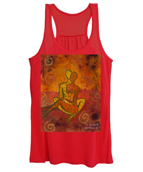 Connection Divine Love Series No. 1001 Women's Tank Top