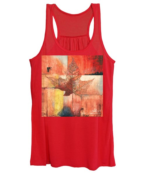 Contemporary Leaf 2 Women's Tank Top