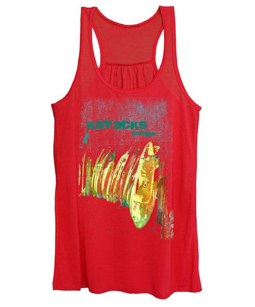 Corolla Kayacks Women's Tank Top