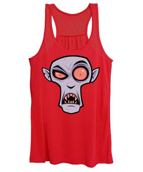 Count Dracula Women's Tank Top