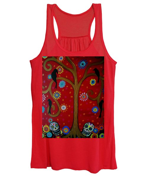 Couple Day Of The Dead Women's Tank Top