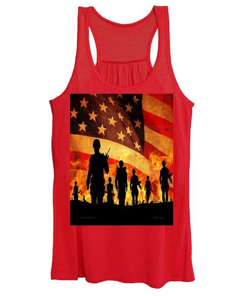 Courage Under Fire Women's Tank Top
