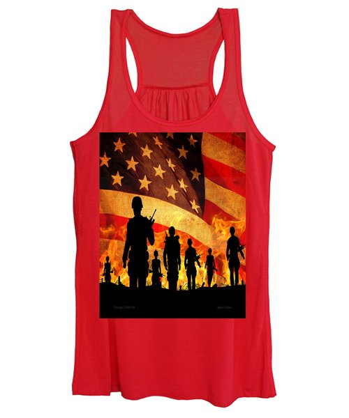 Courage Under Fire Women's Tank Top