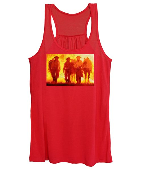 Cowpeople Women's Tank Top
