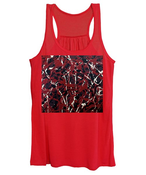 Crazy About Red Women's Tank Top