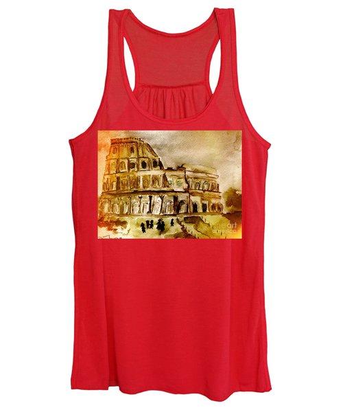 Crazy Colosseum Women's Tank Top