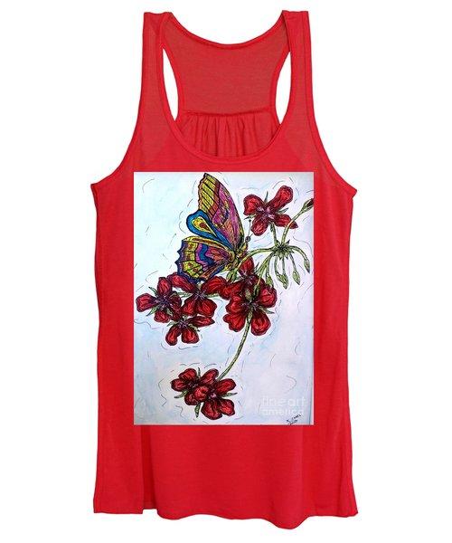 Crimson Fancy Women's Tank Top