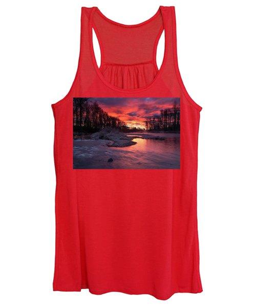Sage Island Sunrise Women's Tank Top
