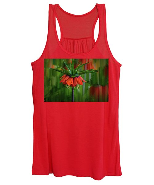 Crown-imperial Abstract #h5 Women's Tank Top
