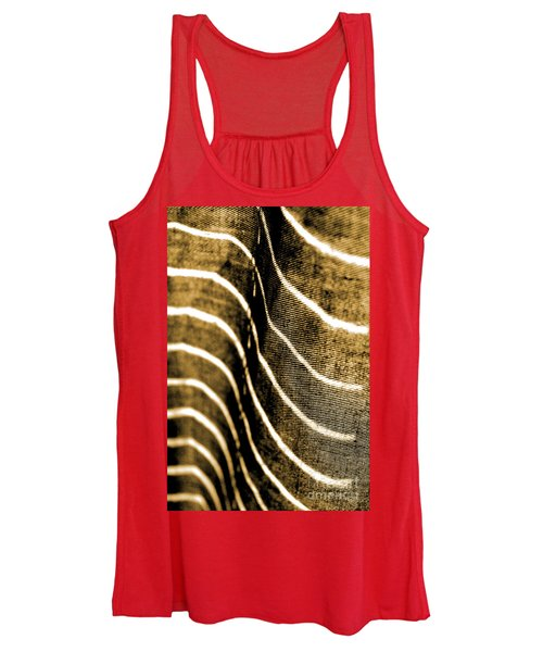Curves And Folds Women's Tank Top