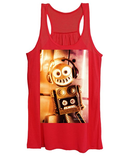 Cyborg Dance Party Women's Tank Top