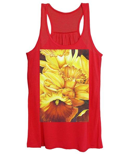 Daffodil Drama Women's Tank Top