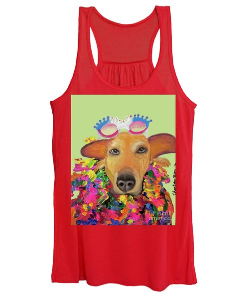 Date With Paint Sept 18 6 Women's Tank Top