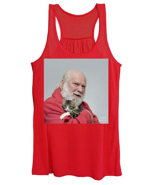 David And Ms Alexia  Square Women's Tank Top